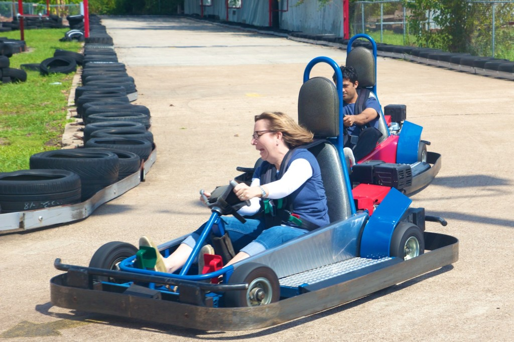 Dania's Need for Speed was Briefly Replaced by Abject Fear