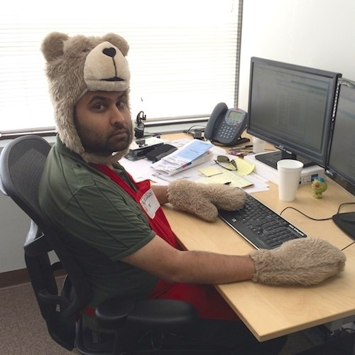 Meet Narinder, the cuddliest tech support agent in down.