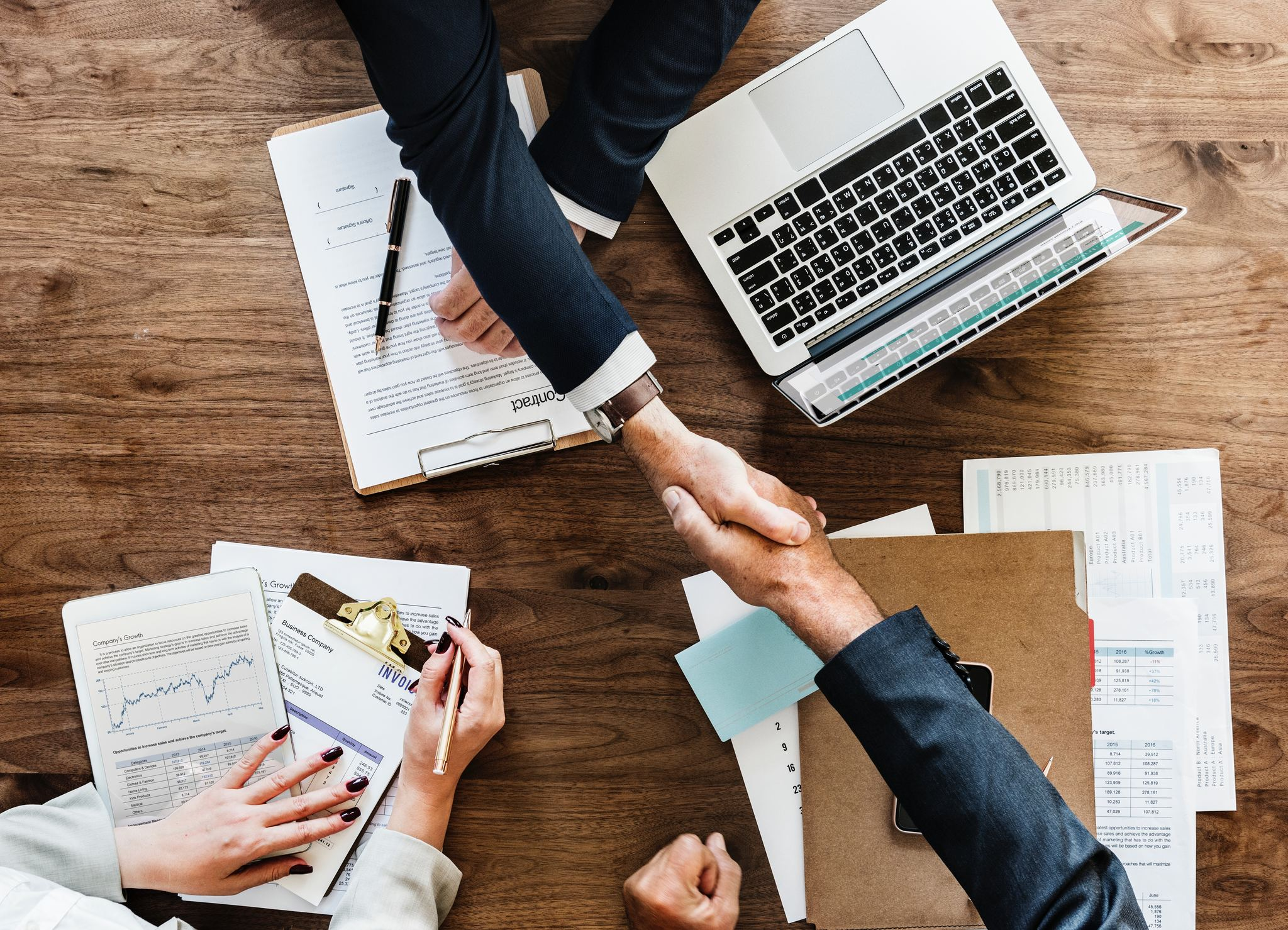 Handshake, Transforming the Way People and Businesses Work